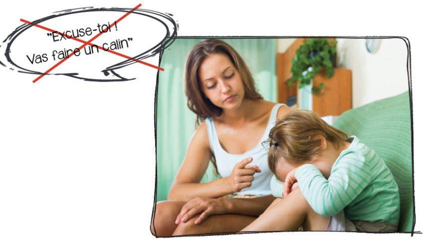 Pourquoi éviter d'imposer des excuses obligatoires lors d'un conflit entre enfants ?